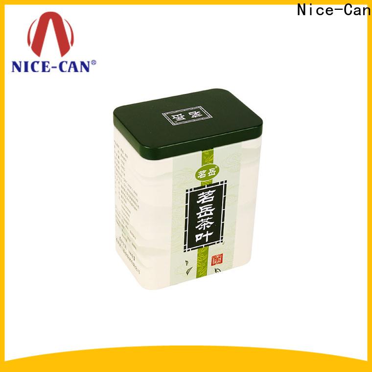 Nice-Can top custom tea tins manufacturers for business