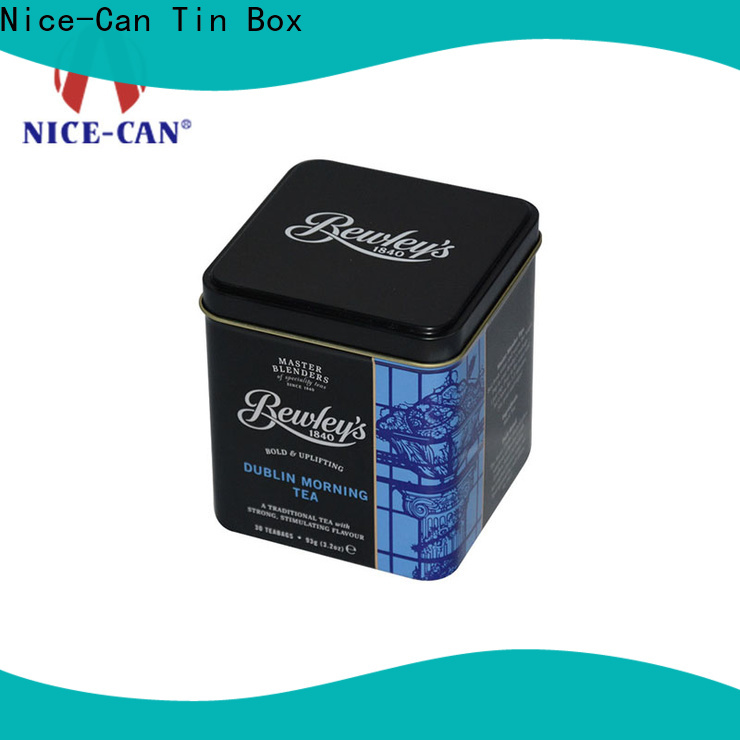 Nice-Can tea tin box factory for gift
