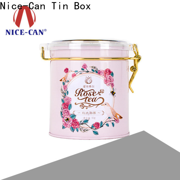 top tea tin box canister for business