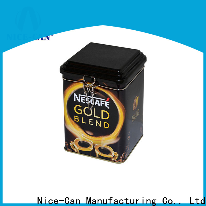 Nice-Can coffee tin box suppliers for gifts