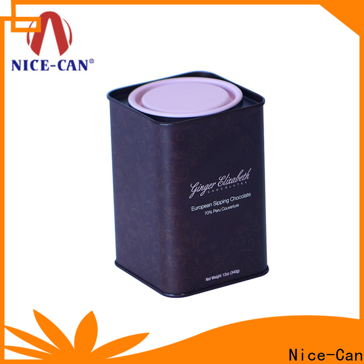 top chocolates tin factory for gifts
