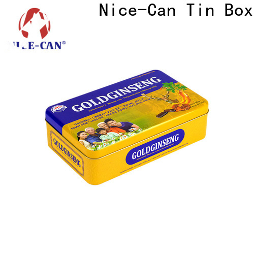 Nice-Can customized food packaging tin cans factory for food