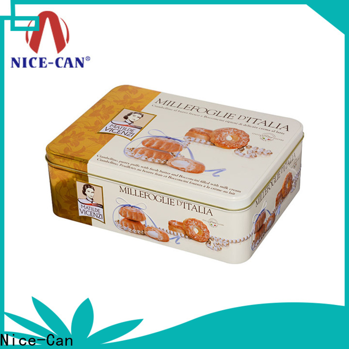 Nice-Can danish butter cheap cookie tins with best price for gifts