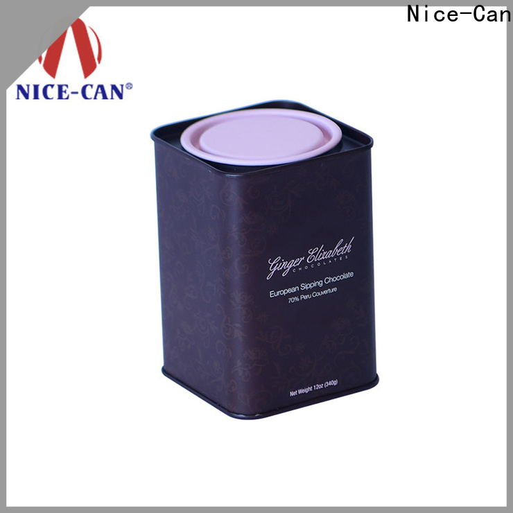 top chocolate storage tin company for gifts