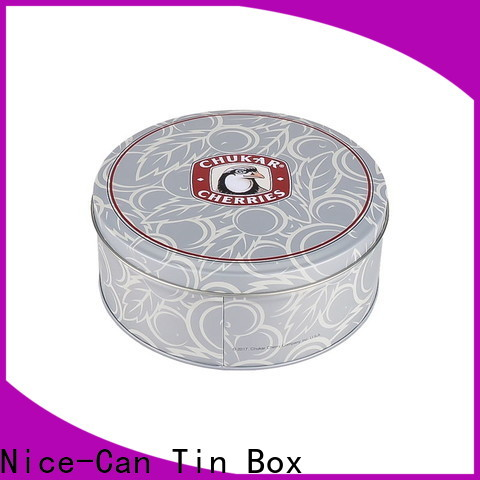 Nice-Can custom cookie tin manufacturers for sale