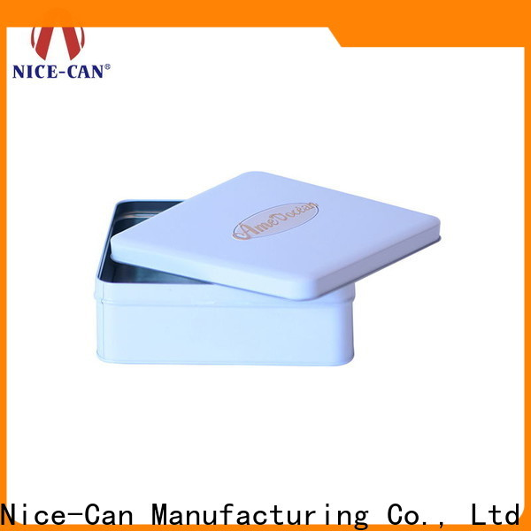 Nice-Can square chocolate tin box factory for sale
