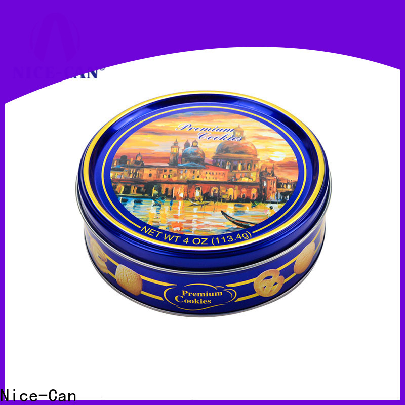 Nice-Can best biscuit tin with best price for gifts