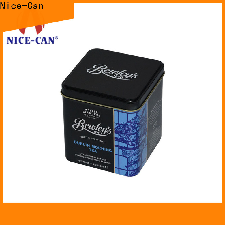Nice-Can high-quality custom tea tins canister for presents