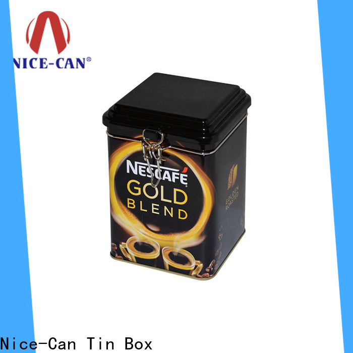 Nice-Can latest coffee tin can supply for hotel