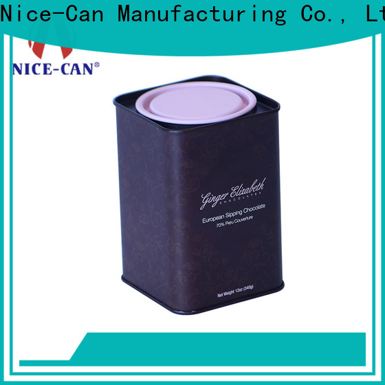 Nice-Can custom chocolate storage tin suppliers for gifts