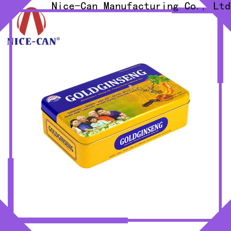 Nice-Can food packaging tin cans factory for sale