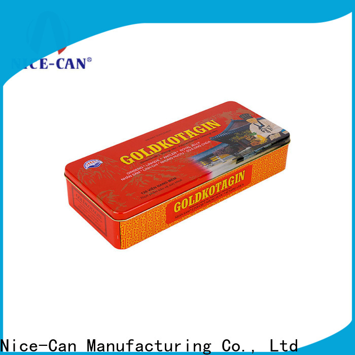 Nice-Can american food tin boxes suppliers for business