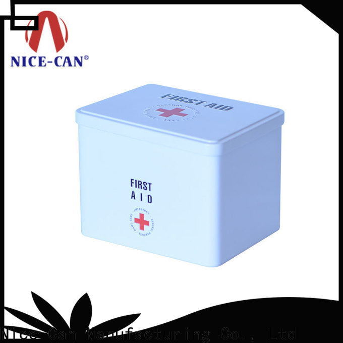 Nice-Can top quality medical tin company for home