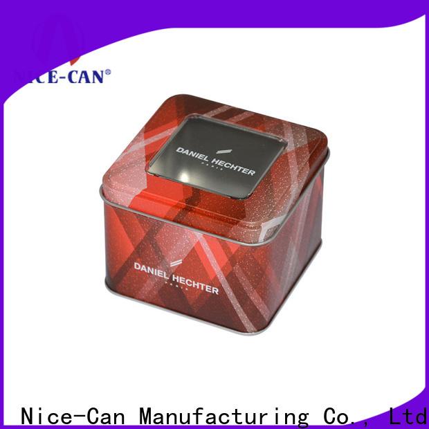 rectangular food storage tins company for food