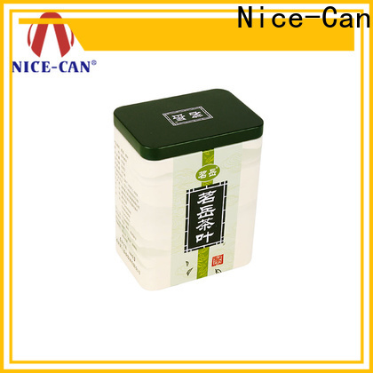 Nice-Can tea tin container canister for gift