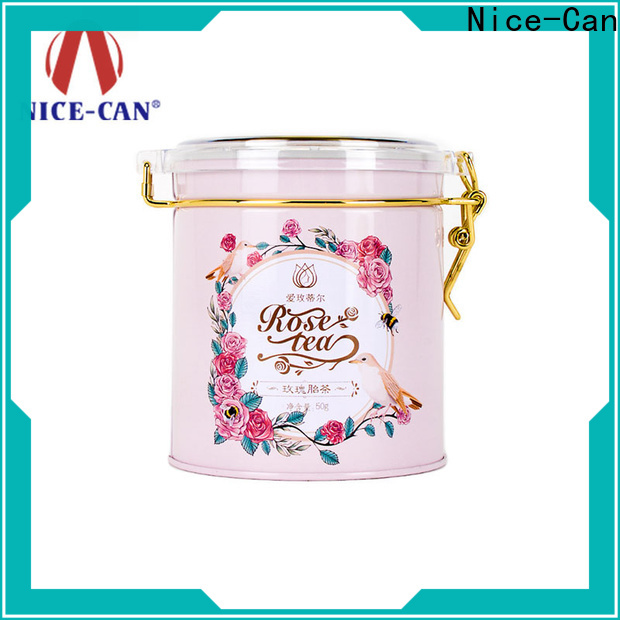 Nice-Can custom tea tins manufacturers for presents