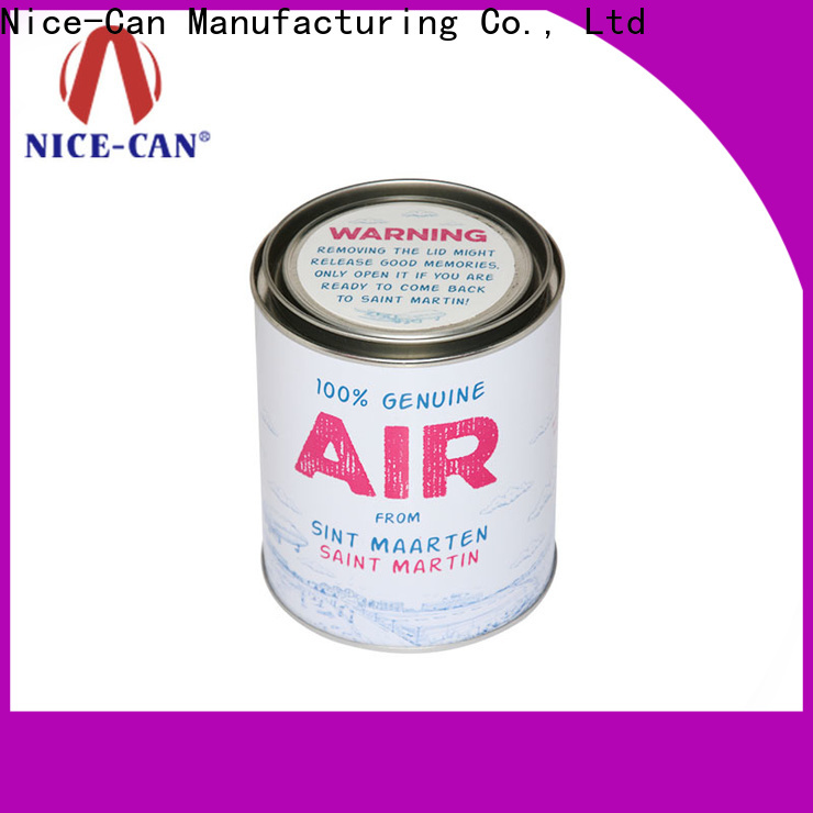 metal candy tin can manufacturers for presents