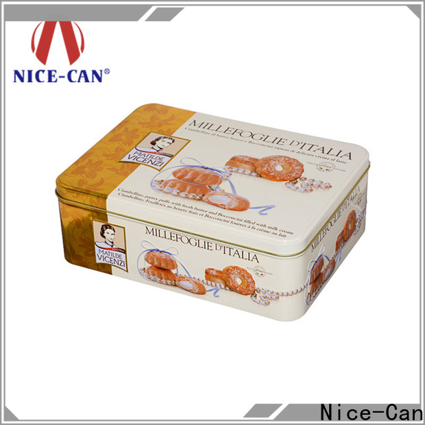 Nice-Can high-quality cookie storage tins manufacturers for gifts