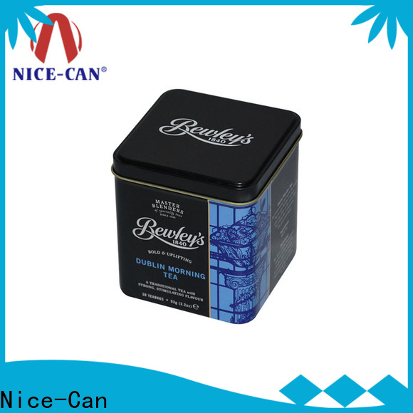 Nice-Can high-quality tea tins manufacturers factory for business