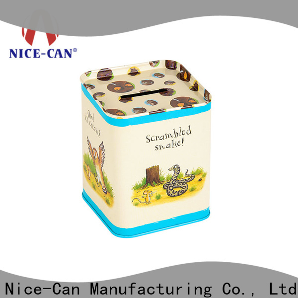 Nice-Can best money tin for business for kids