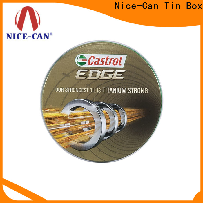 Nice-Can wholesale promotional tins manufacturers for brand promotion