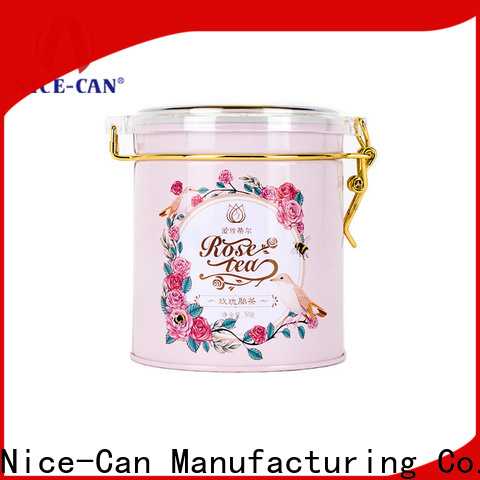 Nice-Can high-quality tea tins manufacturers suppliers for presents