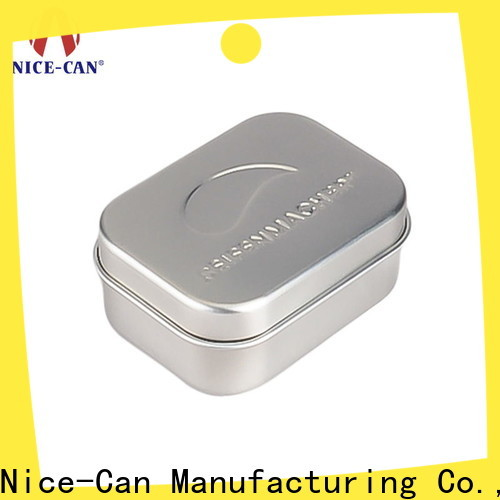 Nice-Can soap tin box company for packaging