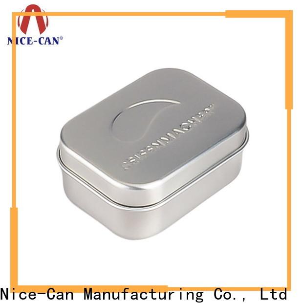 Nice-Can soap tin box supply for villa