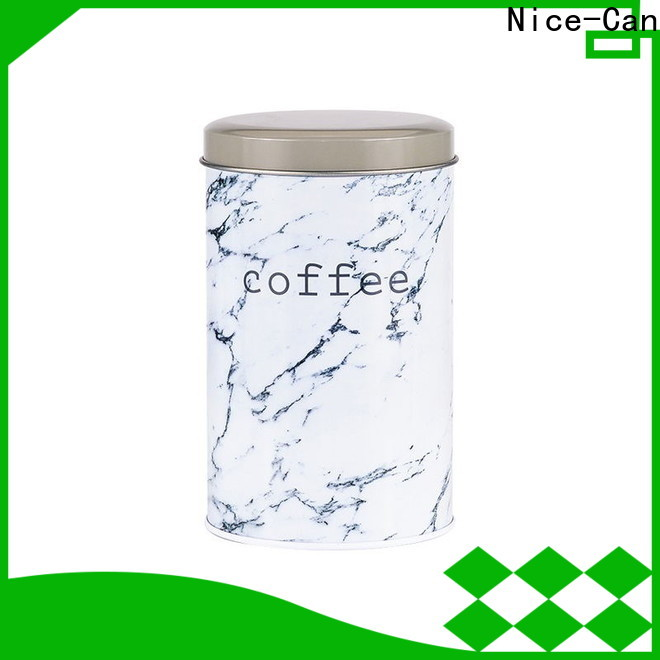 Nice-Can seamless coffee tins manufacturers with custom logo for home