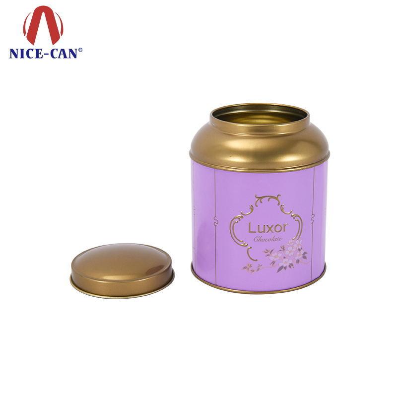 High quality metal tea tin cans for tea