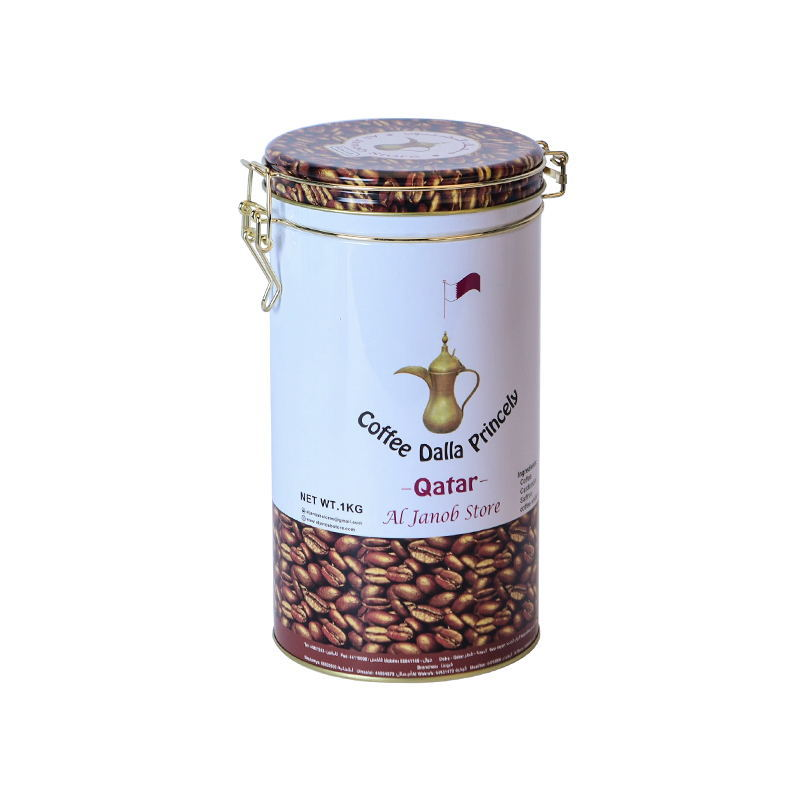 Decorative coffee tin cans coffee containers coffee cans tin box