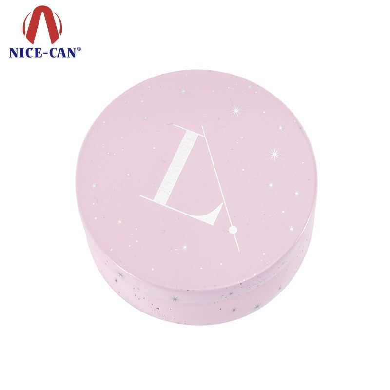 Unique Cosmetic tin metal containers tin box for skin care cream
