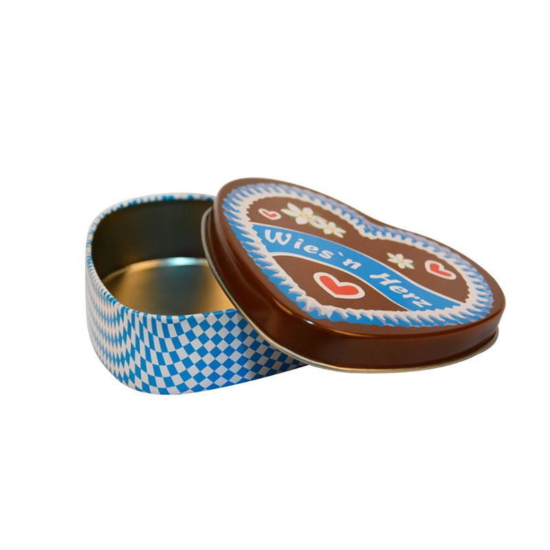 Food grade metal tin biscuit cookie box packaging tin box